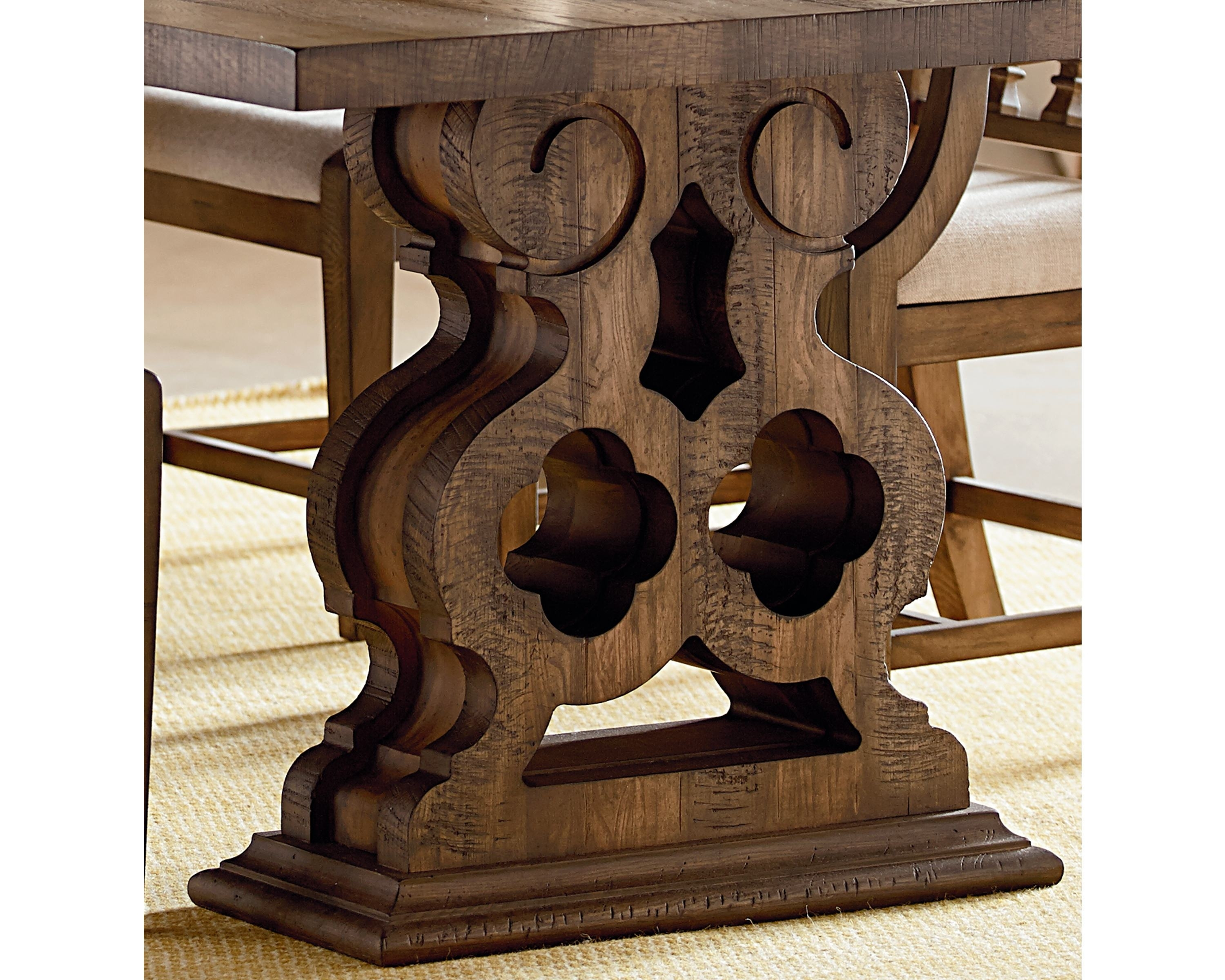 Double Pedestal Dining Table – Magnolia Home For Current Magnolia Home Double Pedestal Dining Tables (Image 10 of 20)