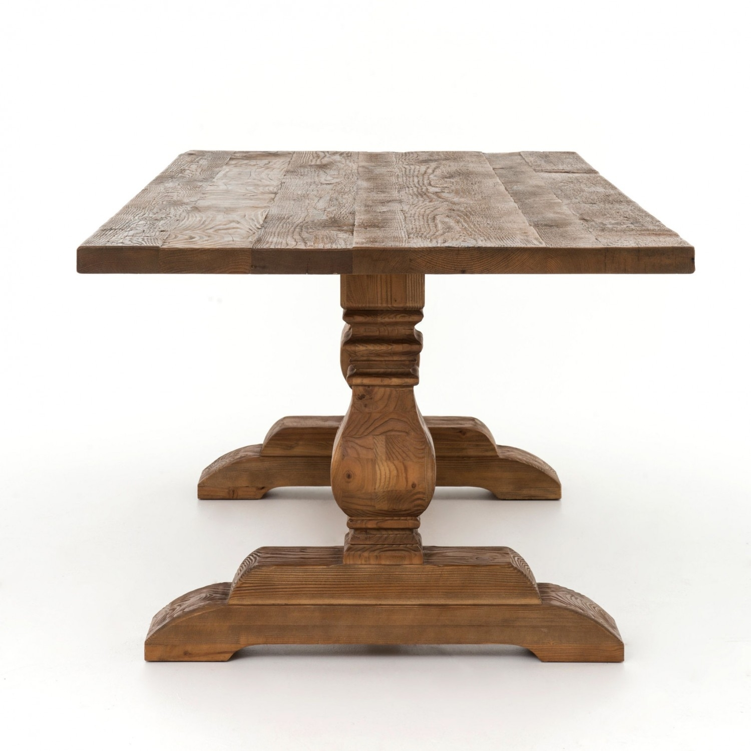 Durham Dining Table | Industrial Home Regarding Latest 87 Inch Dining Tables (View 4 of 20)
