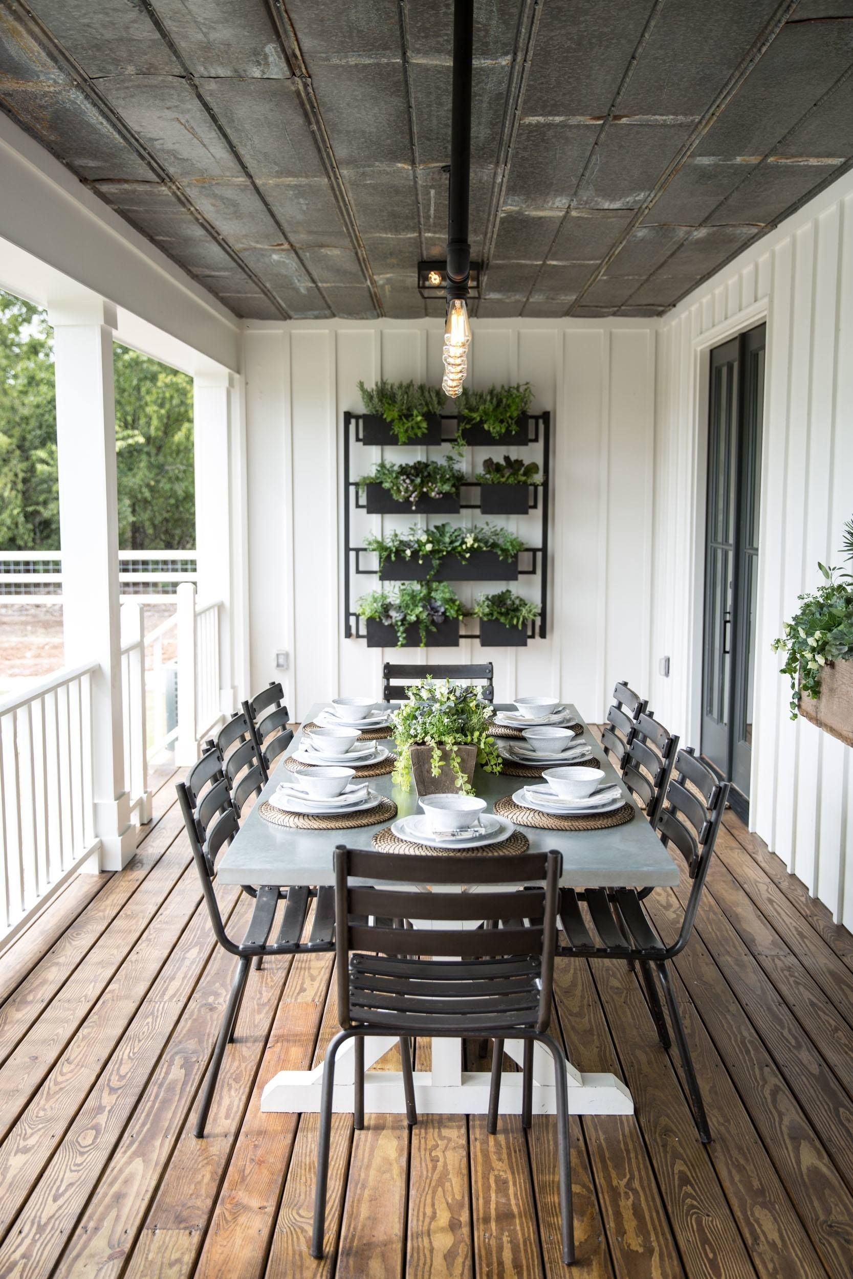 Episode 16 – The Little Shack On The Prairie | Outdoor Spaces In 2018 Magnolia Home Prairie Dining Tables (Photo 12 of 20)