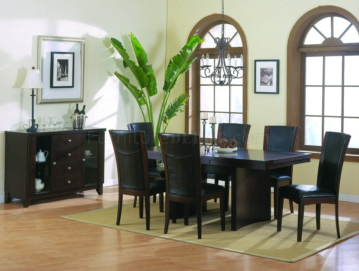 Espresso Rectangular Dining Table – Dining Tables Ideas Inside Recent Lindy Espresso Rectangle Dining Tables (Image 6 of 20)
