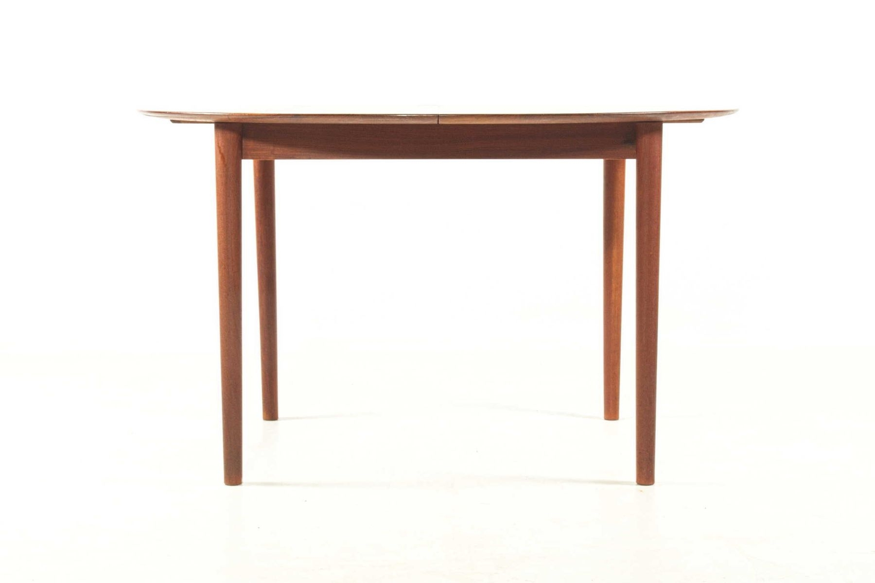 Extendable Dining Tablepeter Hvidt For Søborg Møbelfabrik, 1950S Regarding 2018 Lassen Extension Rectangle Dining Tables (View 20 of 20)