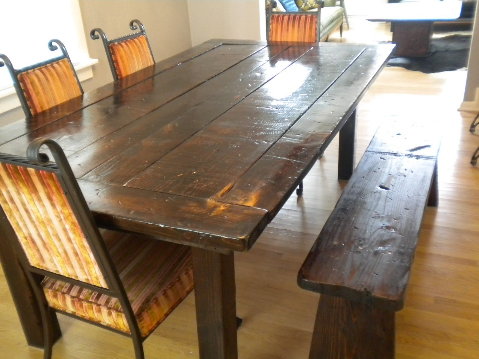 Farm Dining Tables.  (Image 5 of 20)
