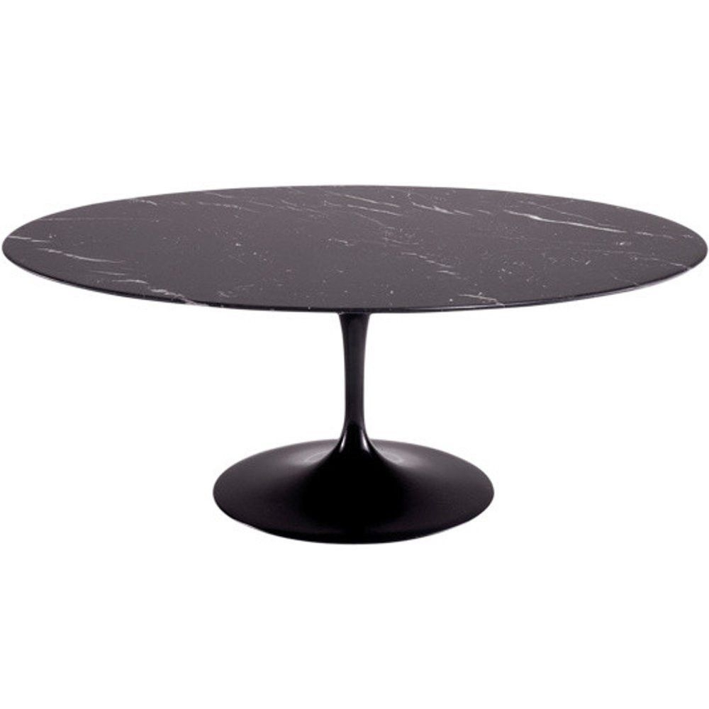 "Finemod Imports Modern Flower Marble Table Oval 78"" #design Throughout Most Recently Released Portland 78 Inch Dining Tables (Image 9 of 20)"