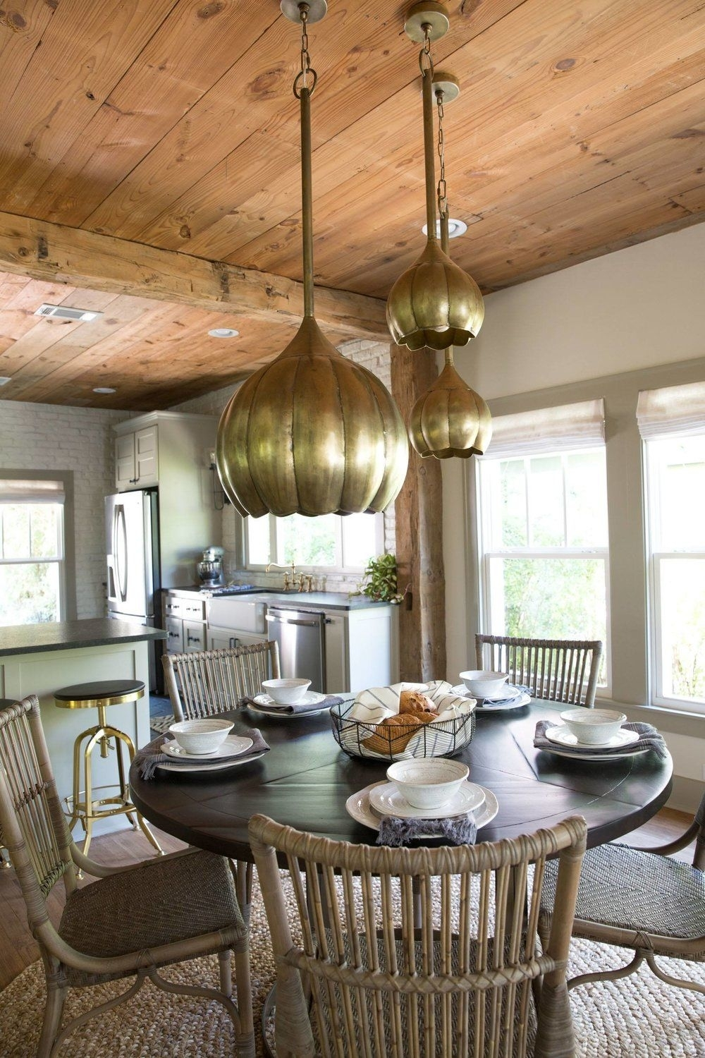 Fixer Upper Friday: The Giraffe House | Kitchens | Pinterest | House In Best And Newest Magnolia Home Array Dining Tables By Joanna Gaines (Image 10 of 20)