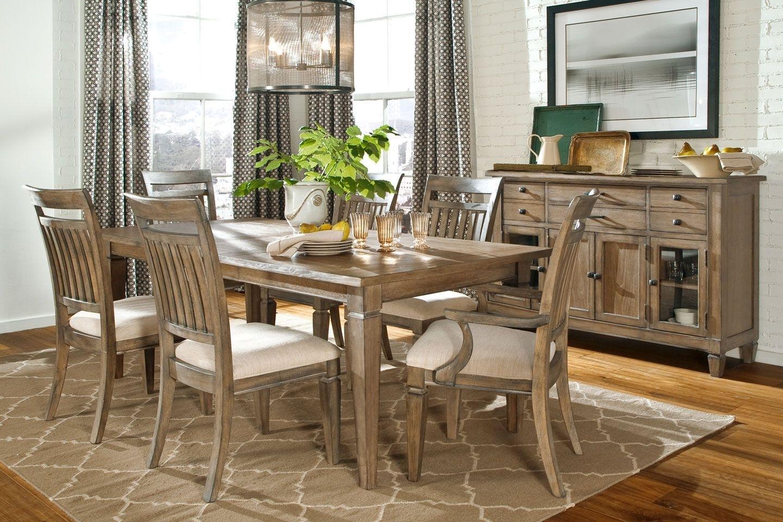 Gavin Rustic Dining Room Set | Dining Room Sets, Formal Dining Rooms For Most Popular Gavin Dining Tables (View 18 of 20)