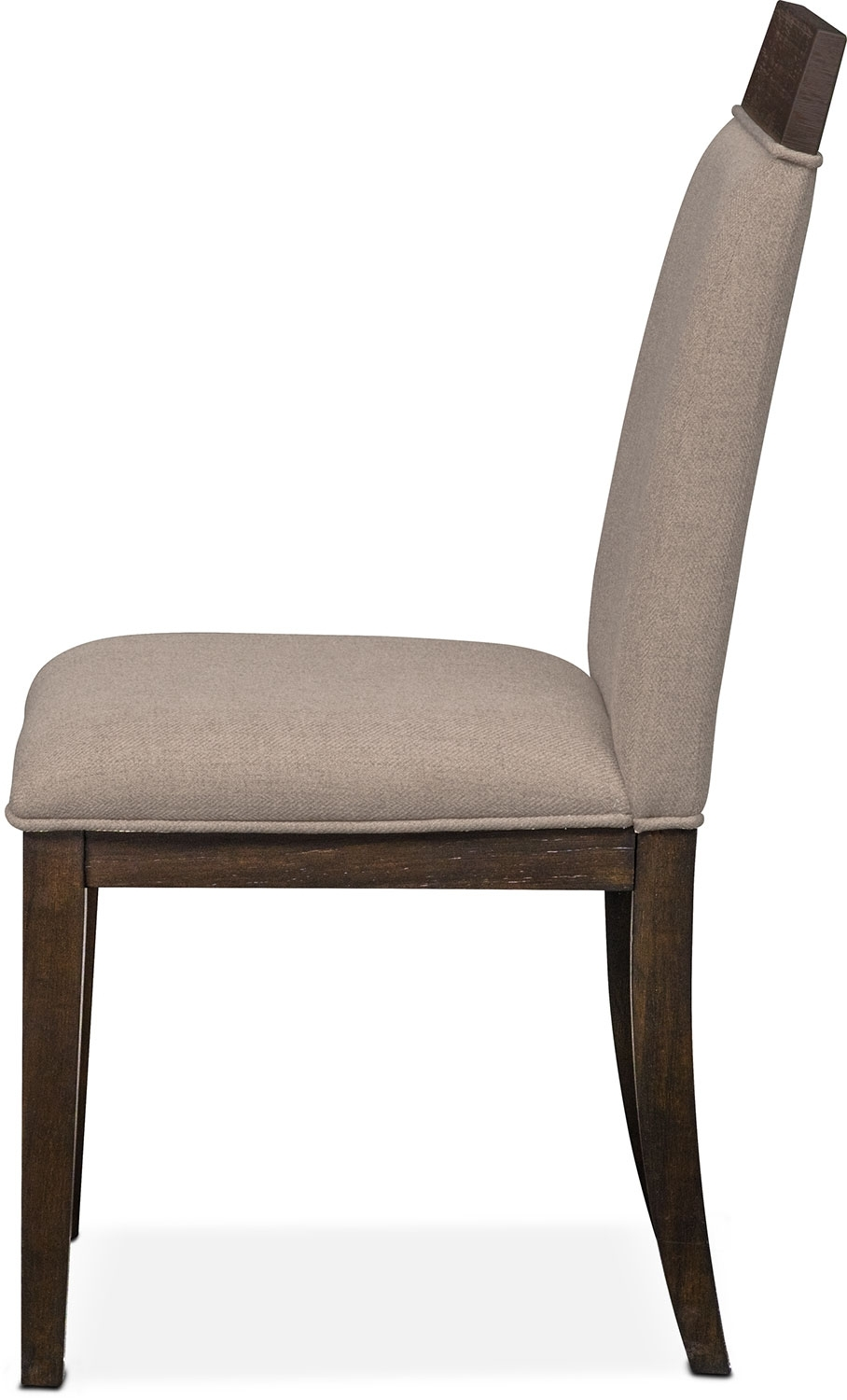 Gavin Side Chair – Brownstone | Value City Furniture And Mattresses In Newest Gavin 7 Piece Dining Sets With Clint Side Chairs (Image 6 of 20)