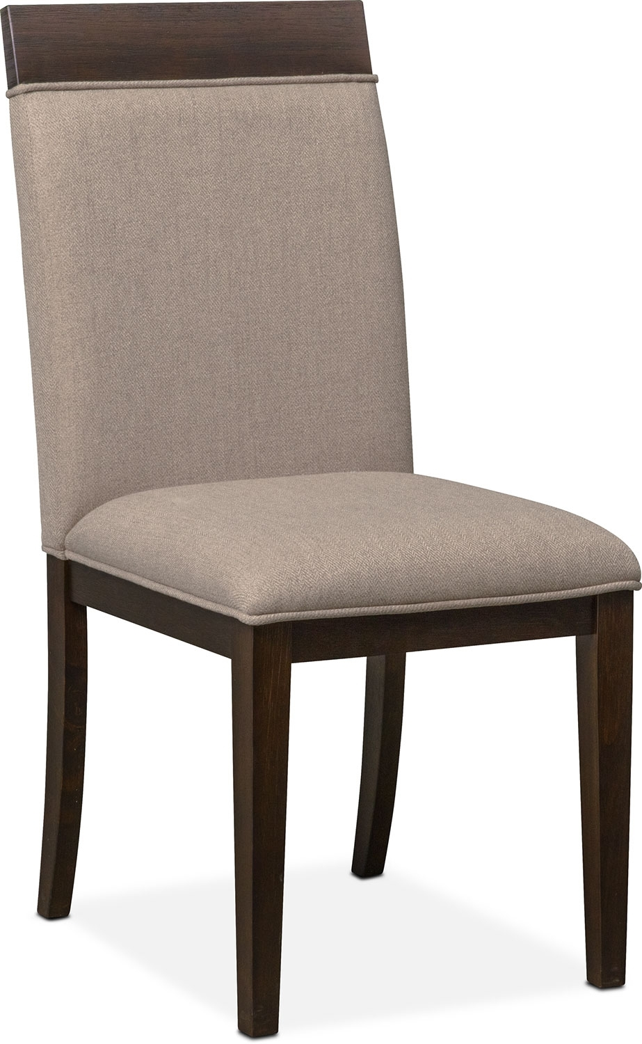 Gavin Side Chair – Brownstone | Value City Furniture And Mattresses Pertaining To Most Recent Gavin 7 Piece Dining Sets With Clint Side Chairs (Image 8 of 20)