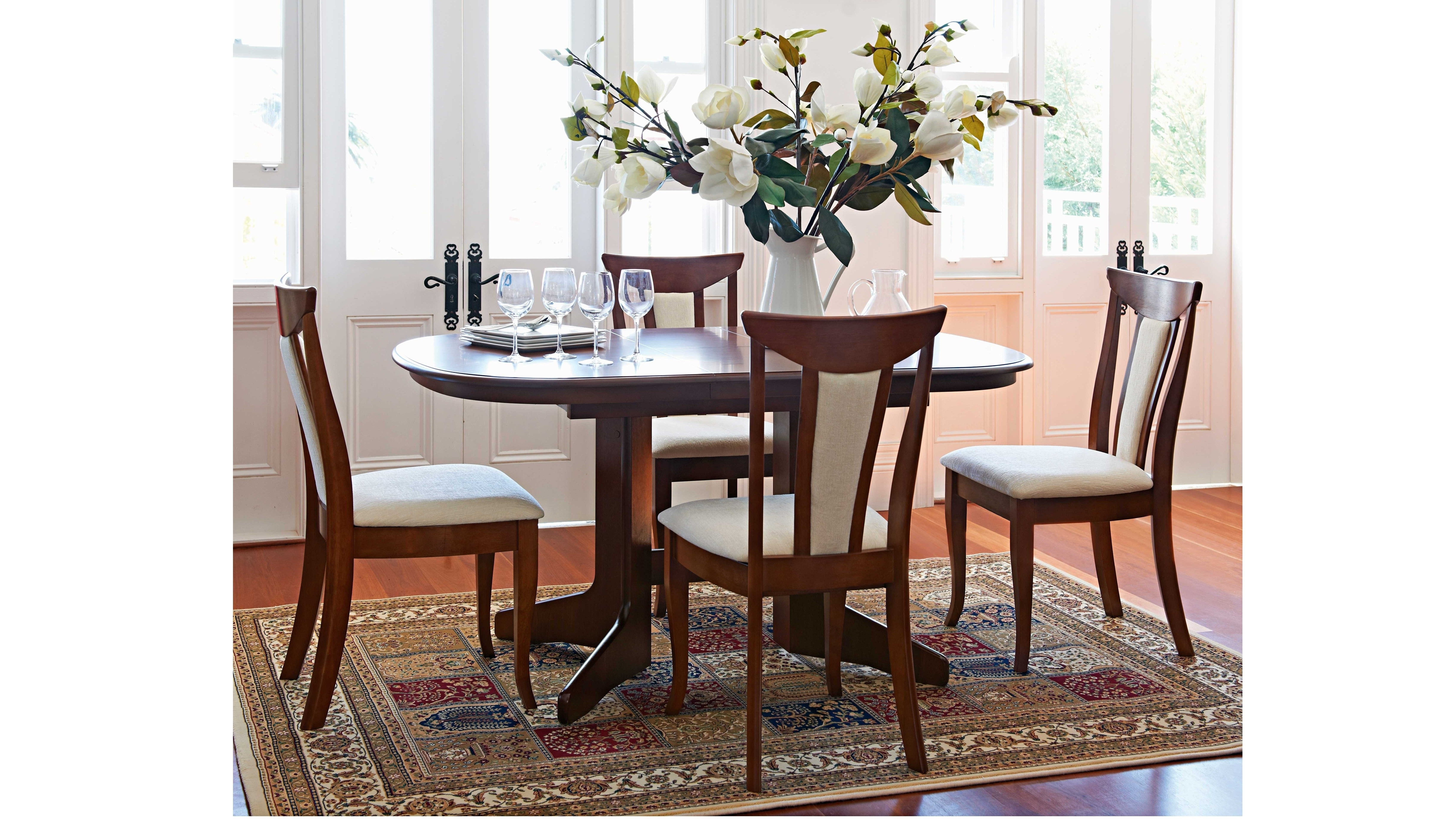 Geneva 5 Piece Dining Set – Harvey Norman | Dining Settings Intended For Most Recently Released Candice Ii 6 Piece Extension Rectangle Dining Sets (View 16 of 20)