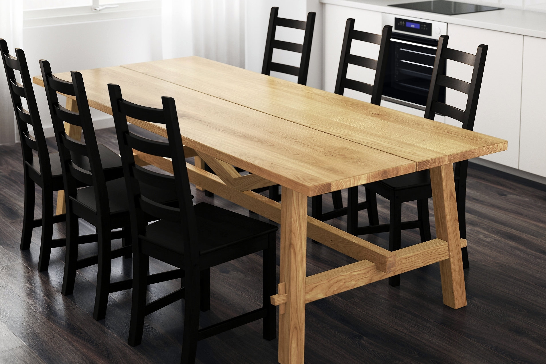 Get The Best Wood Table For Dining – Furnish Ideas Within Most Recent Teagan Extension Dining Tables (Image 7 of 20)