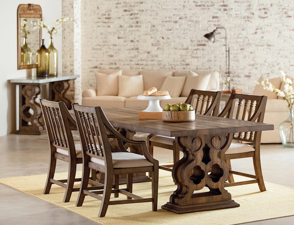 Give Your Dining Room A Thanksgiving Magnolia Makeover | Art Van Intended For Most Popular Magnolia Home English Country Oval Dining Tables (Image 13 of 20)
