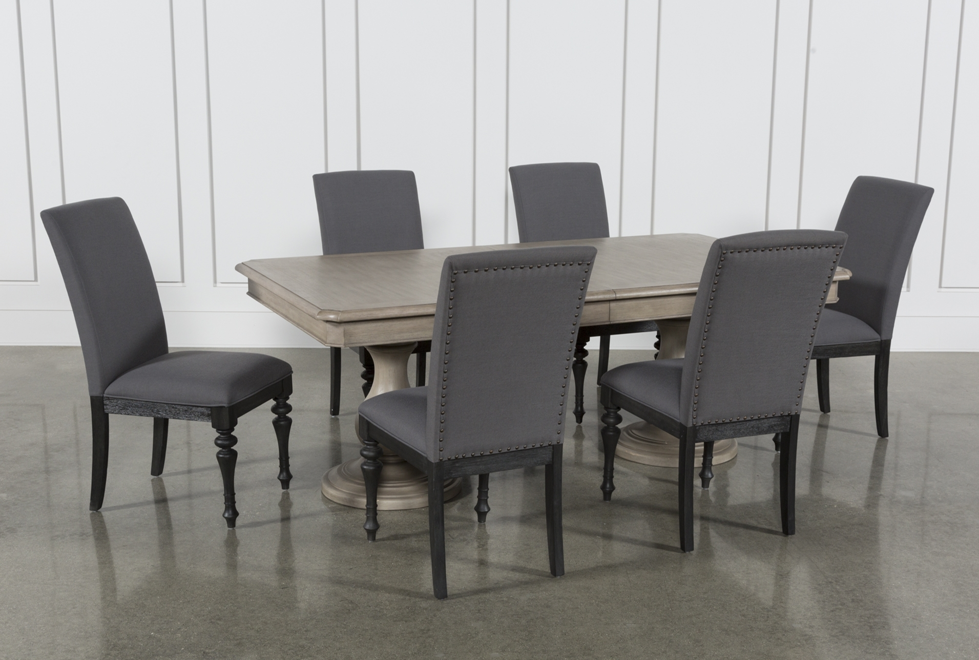 Global Furniture Bar Table Black With Regard To Current Jaxon 6 Piece Rectangle Dining Sets With Bench & Wood Chairs (View 14 of 20)