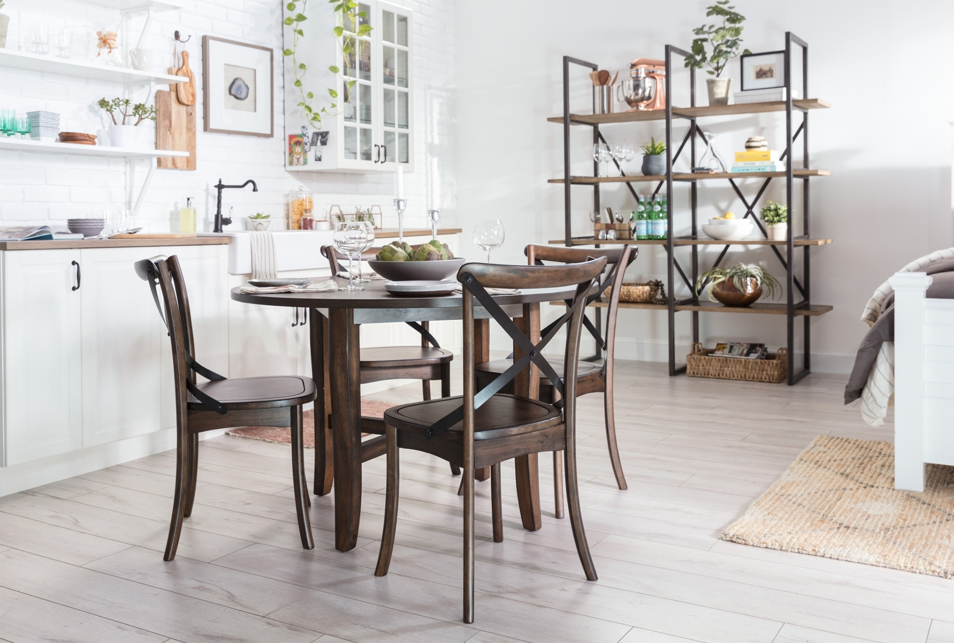 Grady 5 Piece Round Dining Set | Round Dining Set, Round Dining And With Regard To Most Recently Released Grady 5 Piece Round Dining Sets (Photo 3 of 20)