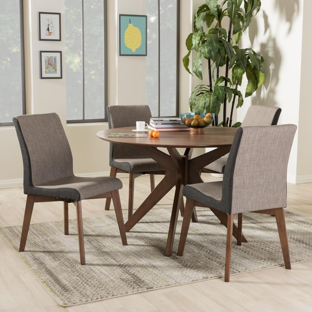Gray – Dining Room Sets – Kitchen & Dining Room Furniture – The Home Inside Latest Walden 9 Piece Extension Dining Sets (Image 5 of 20)