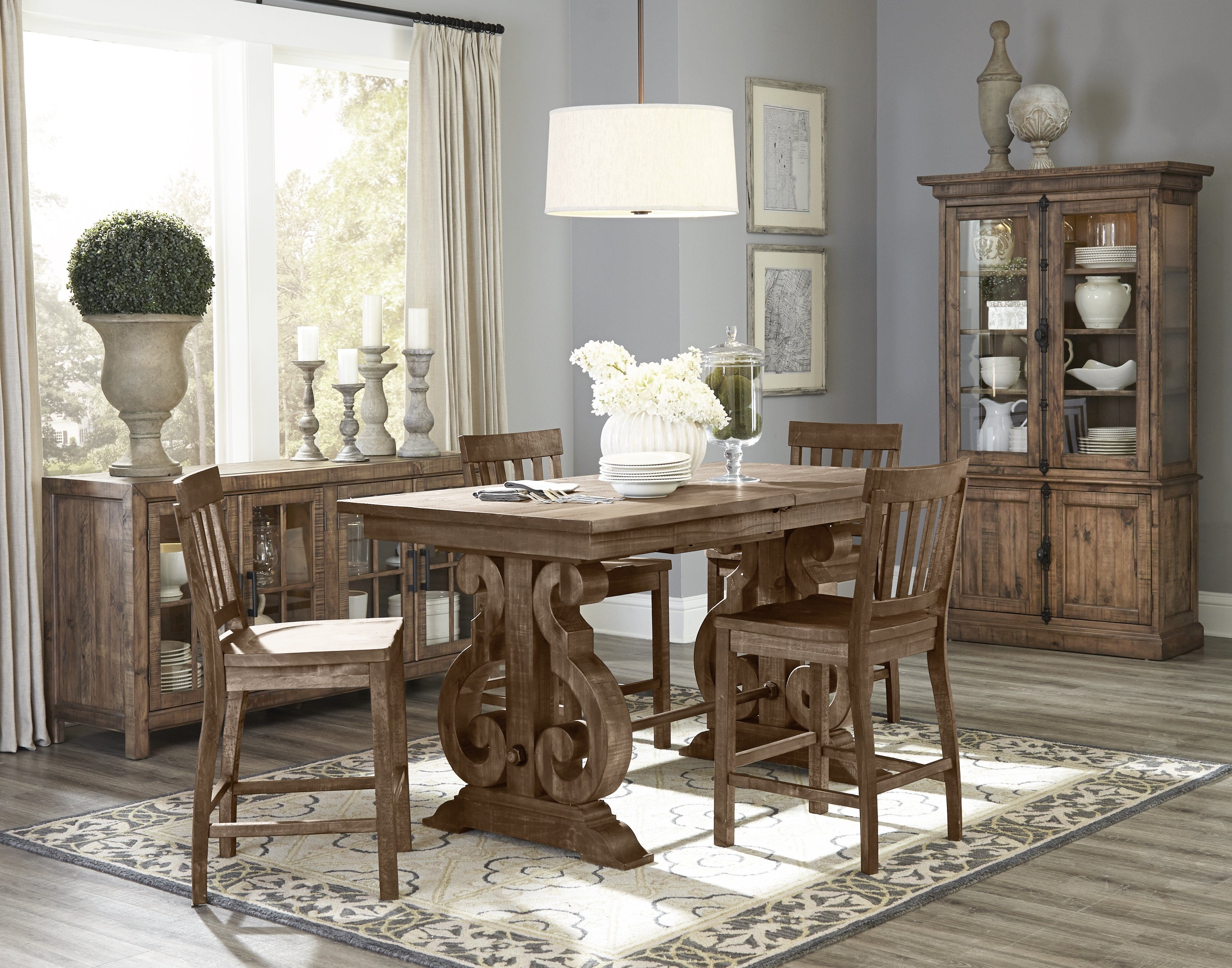Greyleigh 5 Piece Dining Set | Wayfair For Most Current Cora 5 Piece Dining Sets (Image 15 of 20)