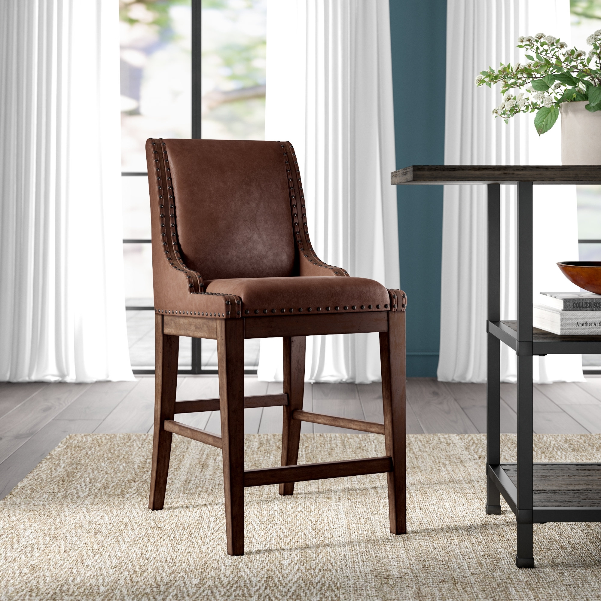 Greyleigh Cairo Upholstered Dining Chair | Wayfair Within Most Up To Date Caira Black 7 Piece Dining Sets With Upholstered Side Chairs (Image 12 of 20)