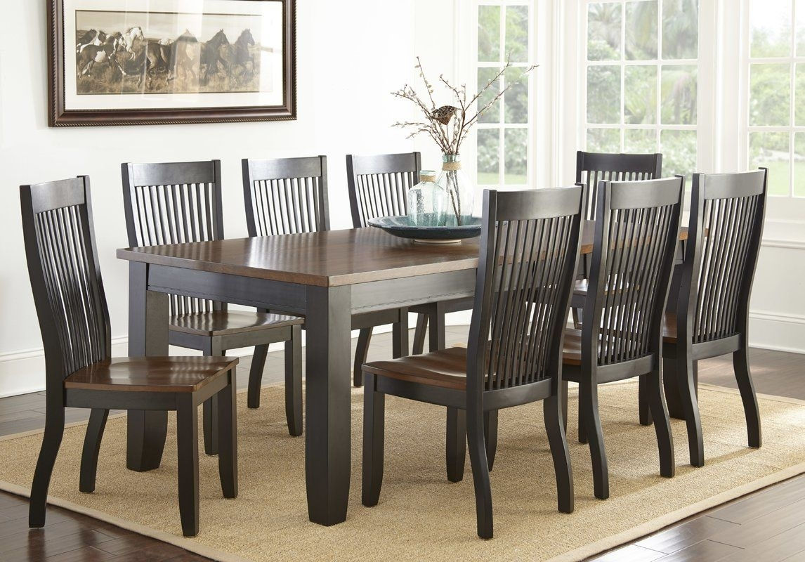 Griffey 9 Piece Dining Set | Extendable Dining Table, Dining And Room Pertaining To Recent Rocco 8 Piece Extension Counter Sets (Image 8 of 20)