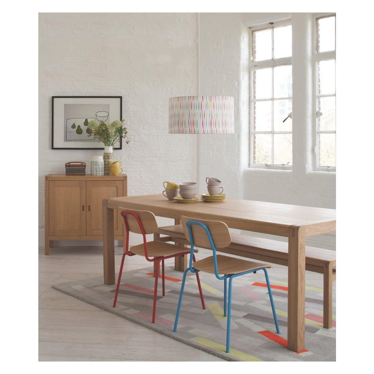 Habitat | Kitchen | Pinterest | Dining, Oak Dining Table And Dining Inside Most Recently Released Lassen Extension Rectangle Dining Tables (Image 5 of 20)