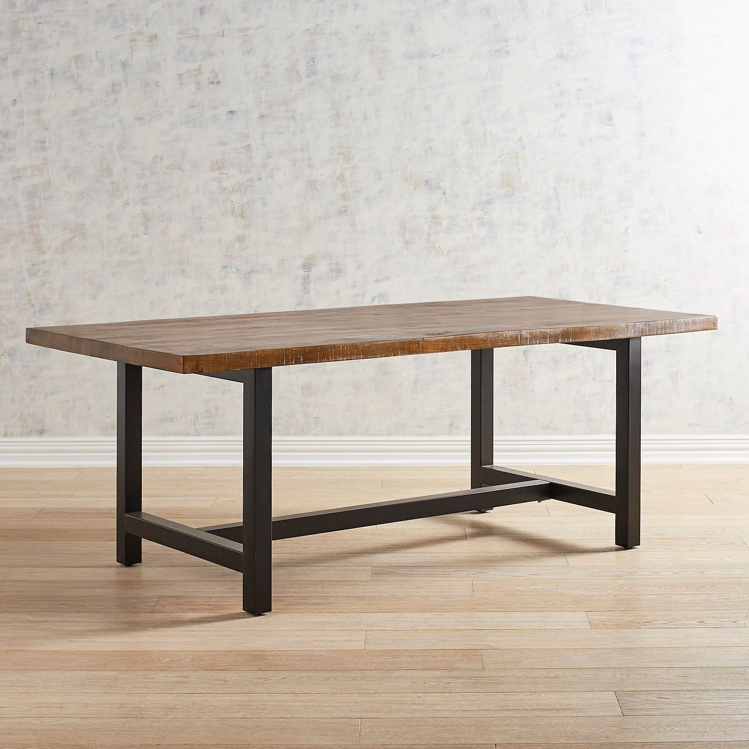 Harlan Brown Dining Table | Products | Pinterest | Dining, Dining For Best And Newest Magnolia Home Bench Keeping 96 Inch Dining Tables (Image 3 of 20)