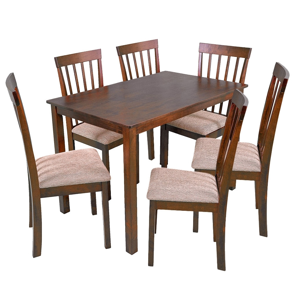 Harper 7 Piece Dining Set Within Latest Harper 5 Piece Counter Sets (View 6 of 20)