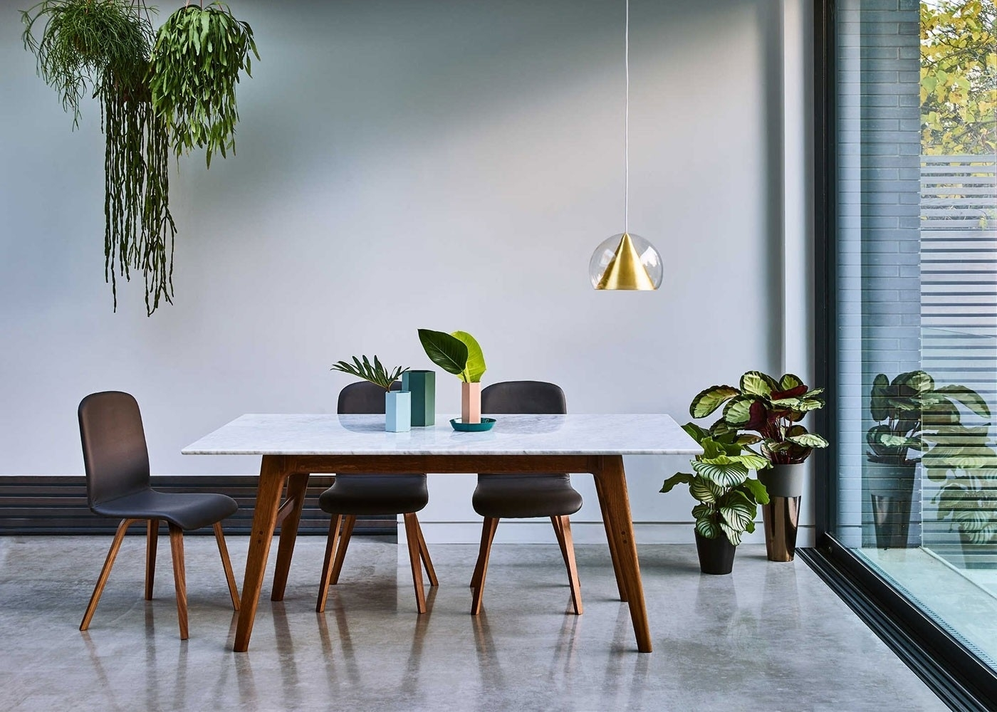 Heal's Blake Dining Table Marble Dark Oak | Heal's Inside Current Wyatt Dining Tables (View 18 of 20)