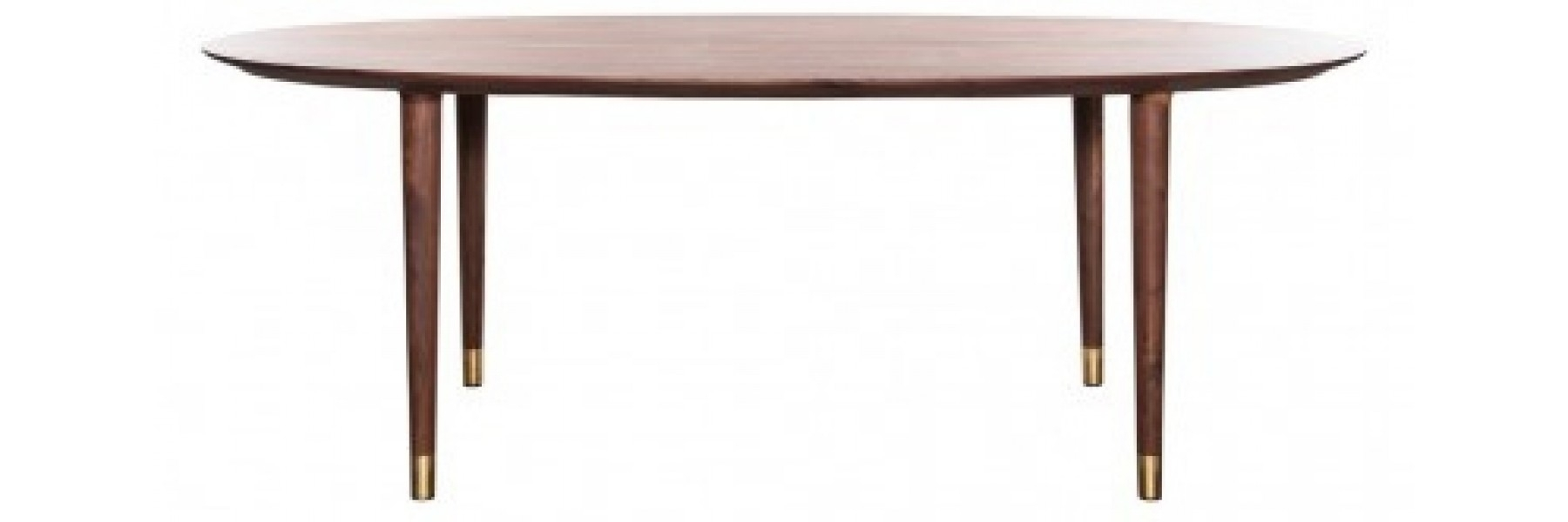 Helga Walnut Dining Table For Latest Helms 5 Piece Round Dining Sets With Side Chairs (View 18 of 20)