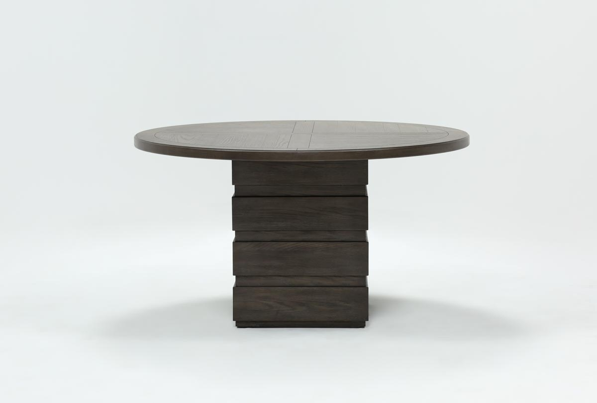 Helms Round Dining Table | Living Spaces Regarding 2017 Helms Round Dining Tables (Photo 1 of 20)