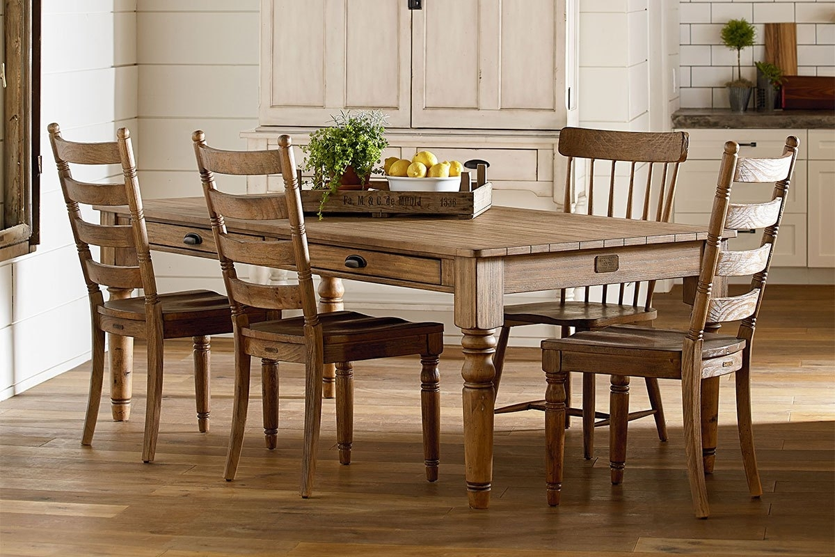 Home Furniture Dining Room Sets | Magnolia Home Top Tier Round Throughout Recent Magnolia Home Top Tier Round Dining Tables (Image 5 of 20)
