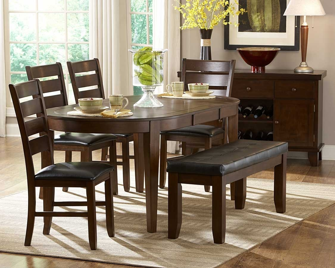 Homelegance Ameillia Oval Dining Set D586 76 Set For Latest Logan 6 Piece Dining Sets (Image 4 of 20)