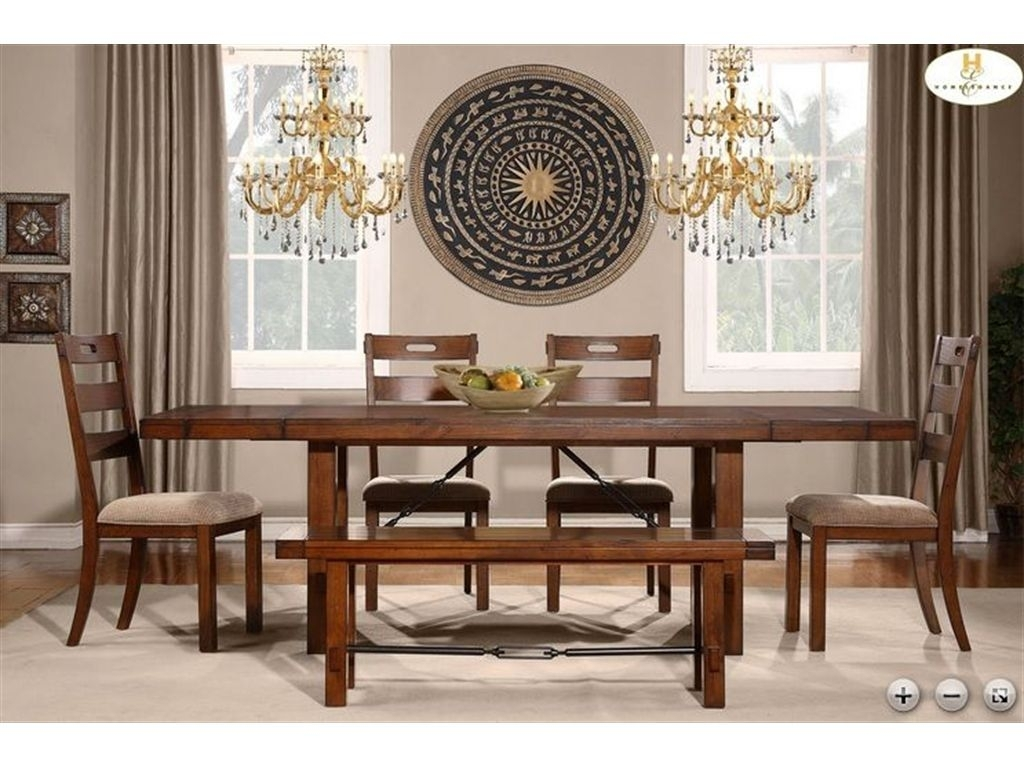 Homelegance Dining Table 2515 96 | Kitchen – New House | Pinterest Pertaining To Current Norwood 6 Piece Rectangle Extension Dining Sets (Image 5 of 20)
