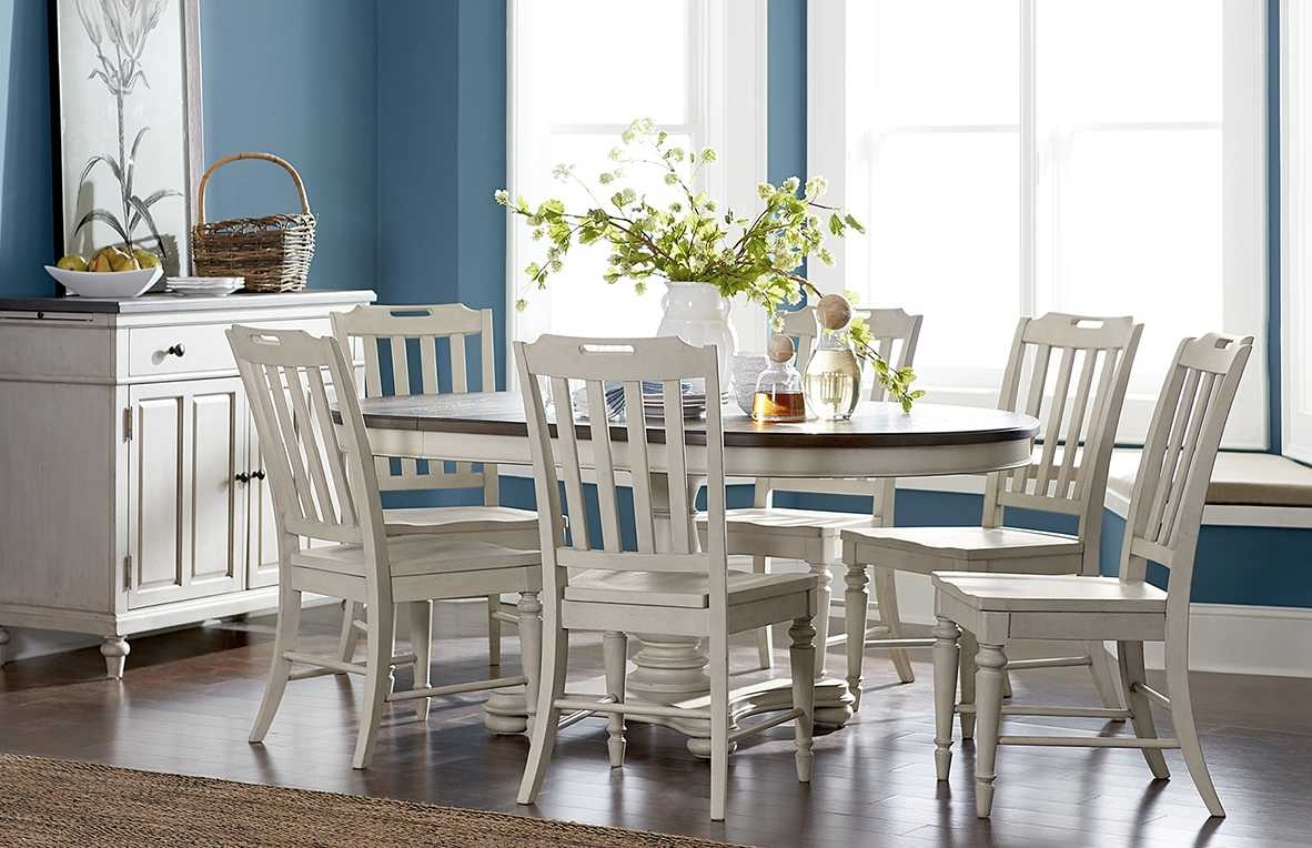 How To Choose Dining Table Size & Dimensions – Macy's With 2017 Macie 5 Piece Round Dining Sets (Image 12 of 20)