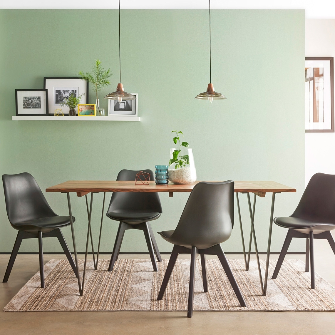 How To Find The Perfect Dining Table – Freedom Intended For Recent Wyatt Dining Tables (Image 7 of 20)