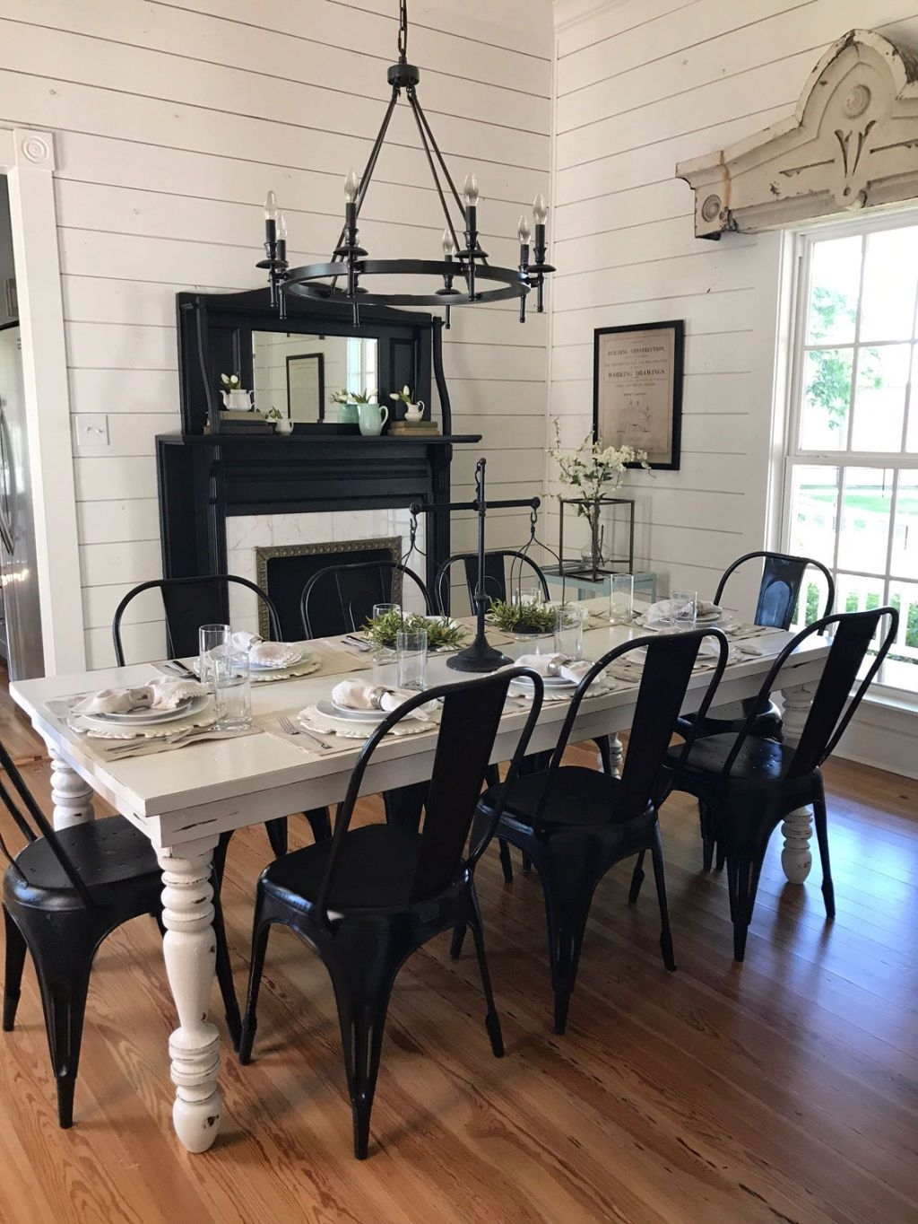 I Stayed At Chip And Joanna's B&b — Here's What It's Really Like Intended For Current Magnolia Home Prairie Dining Tables (Image 9 of 20)