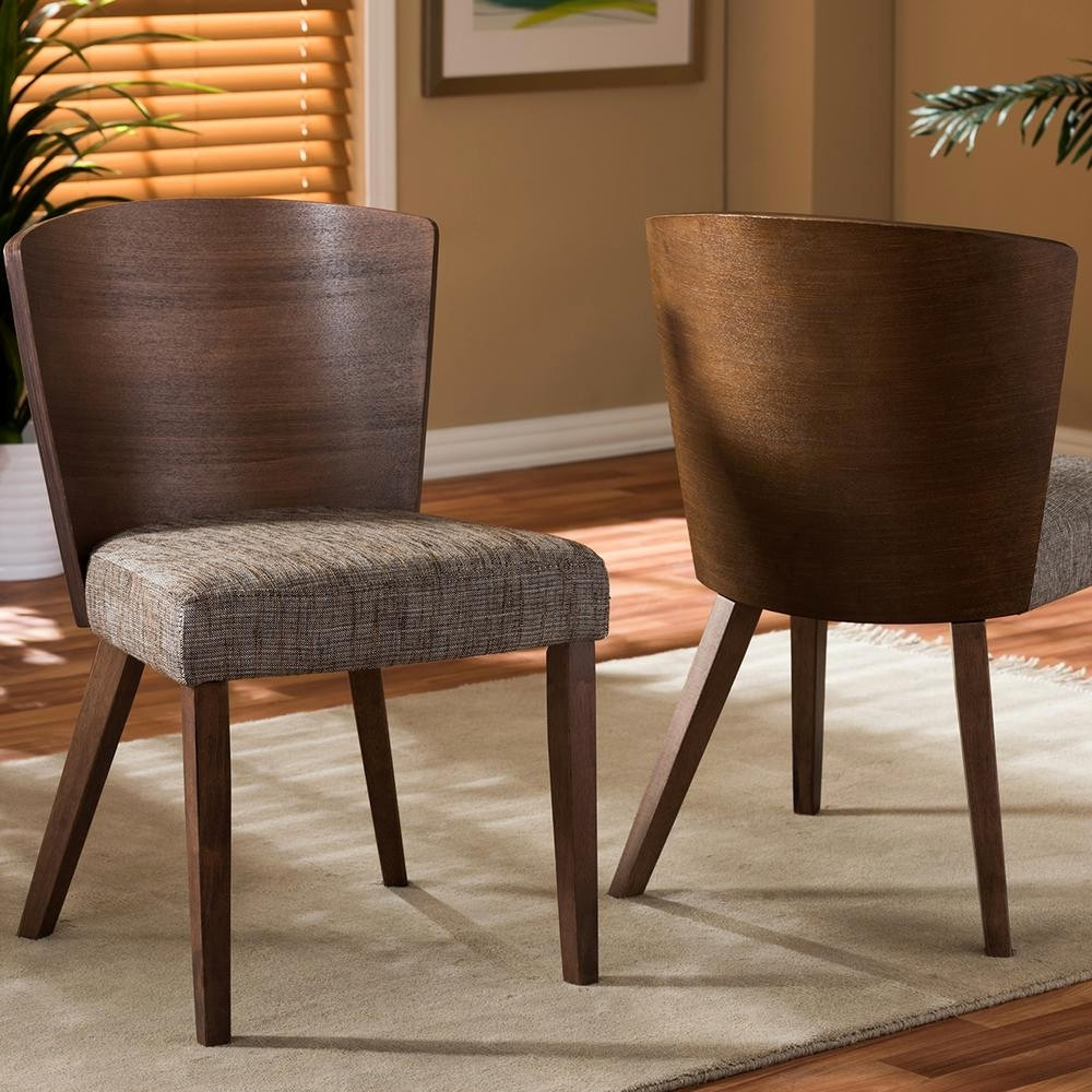 Ideal Jaxon 5 Piece Round Dining Set W Upholstered Chairs Living In Most Recently Released Jaxon Grey 5 Piece Round Extension Dining Sets With Wood Chairs (Image 8 of 20)
