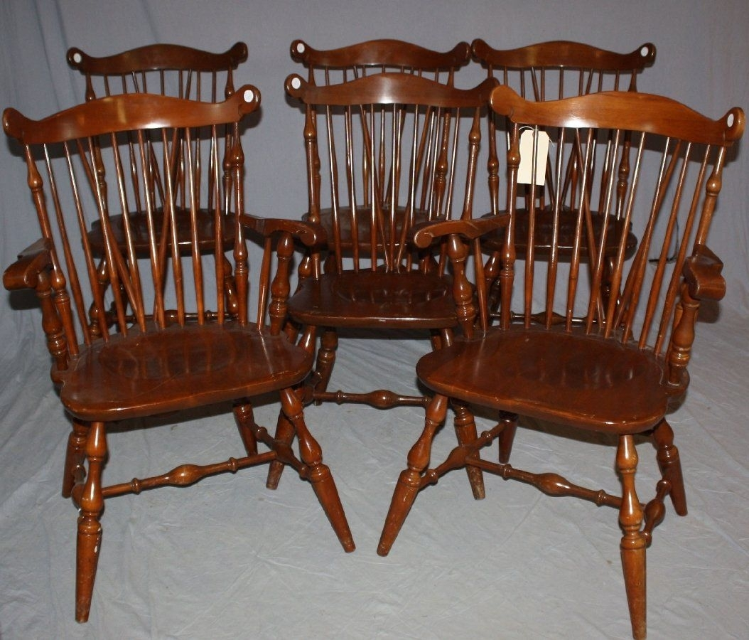Image Result For Temple Stuart Windsor Chairs | For The Home Pertaining To Most Recently Released Combs 5 Piece 48 Inch Extension Dining Sets With Pearson White Chairs (Image 12 of 20)