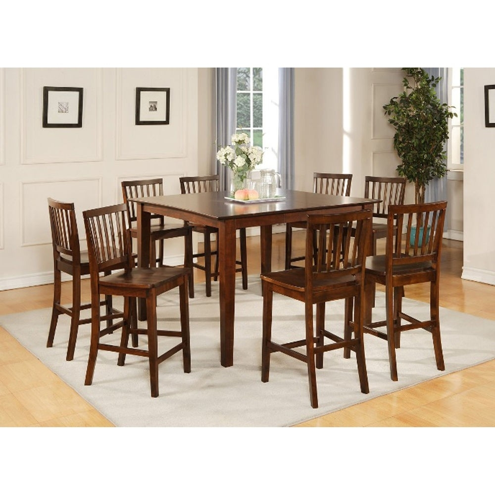 Imágenes De 9 Piece Dining Room Set Wood Within Most Current Walden 9 Piece Extension Dining Sets (Image 6 of 20)