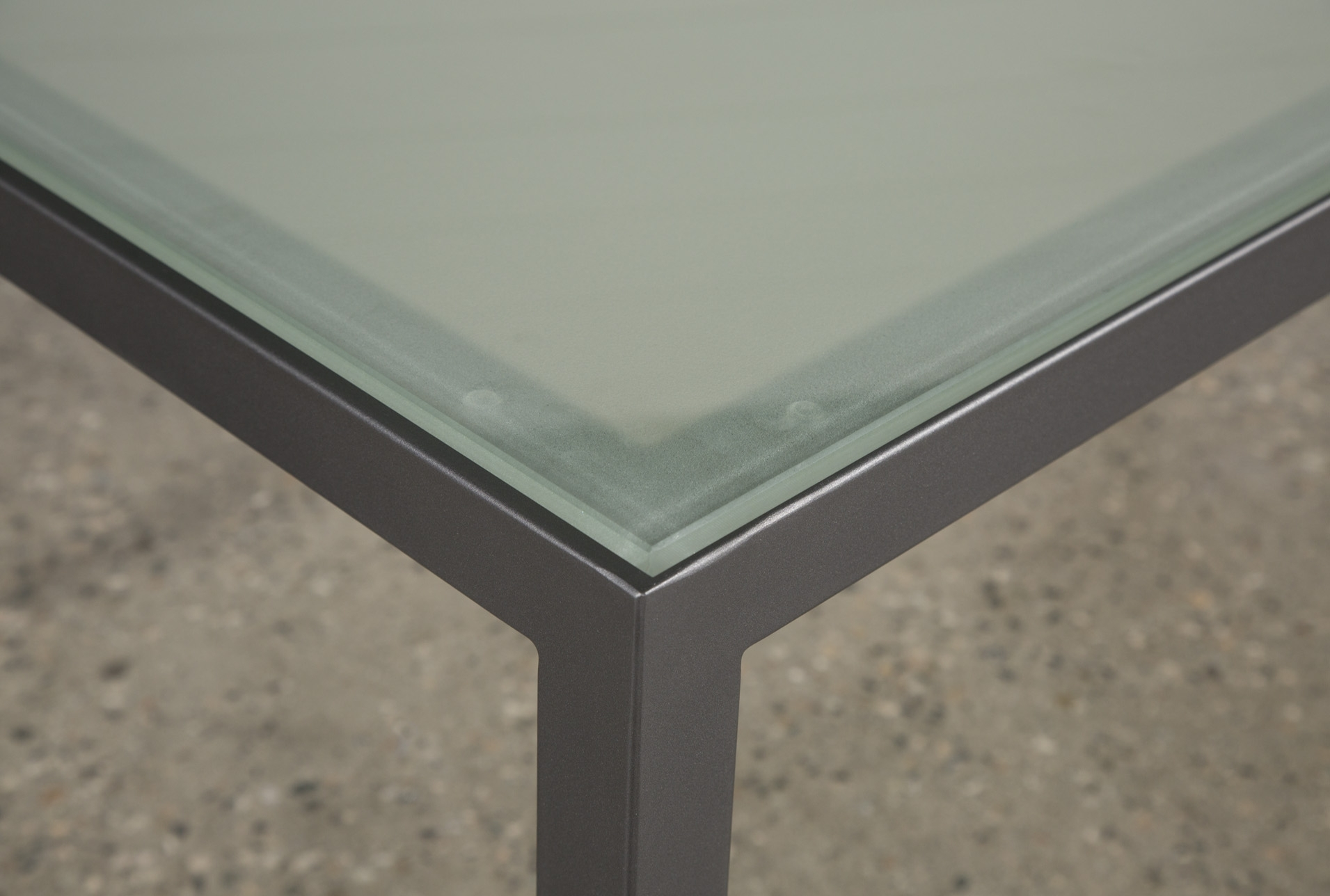 Ina Pewter 60 Inch Counter Table W/frosted Glass With Most Popular Ina Pewter 60 Inch Counter Tables With Frosted Glass (Photo 2 of 20)