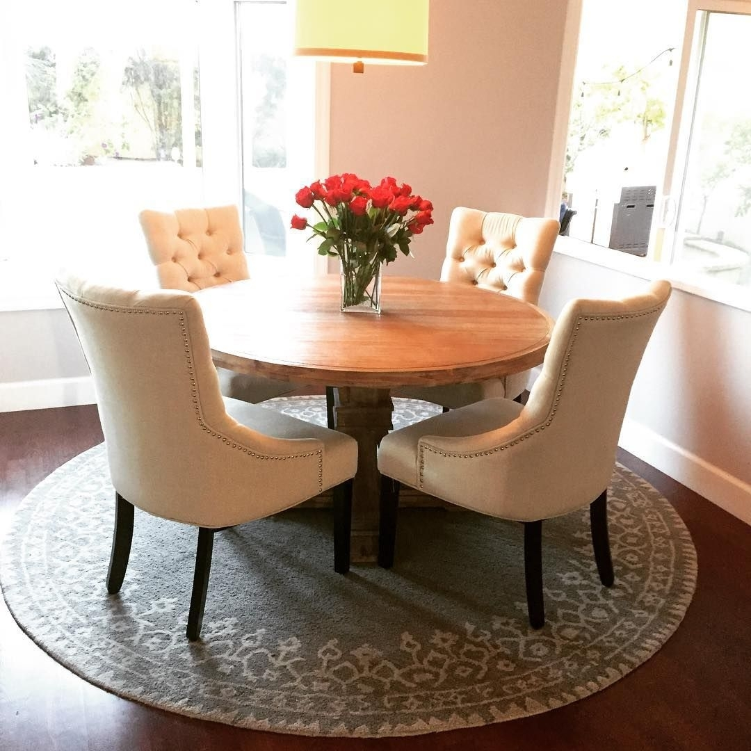 Insta Fan Ashleelynnespinosa Elevates The Everyday With Our Archer For Newest Helms 5 Piece Round Dining Sets With Side Chairs (Image 15 of 20)