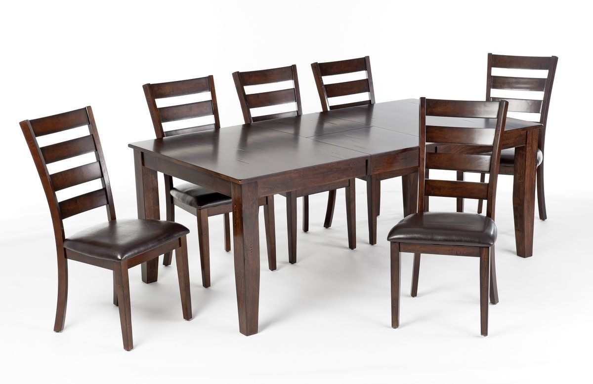 Intercon Kona 7Pc Table Set (Image 8 of 20)