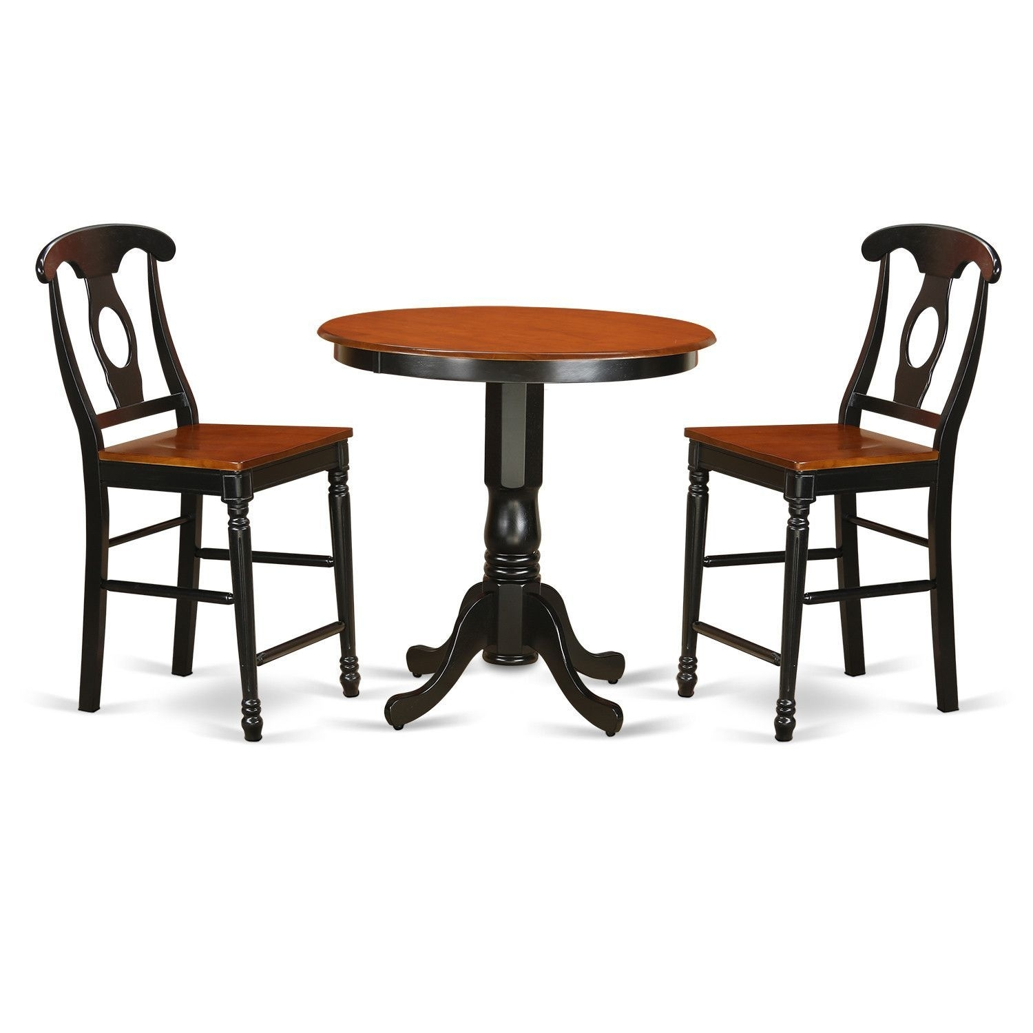 Jackson 3 Piece Counter Height Pub Table Set | Counter Height Pub Intended For Most Up To Date Jaxon 5 Piece Extension Counter Sets With Wood Stools (Photo 12 of 20)