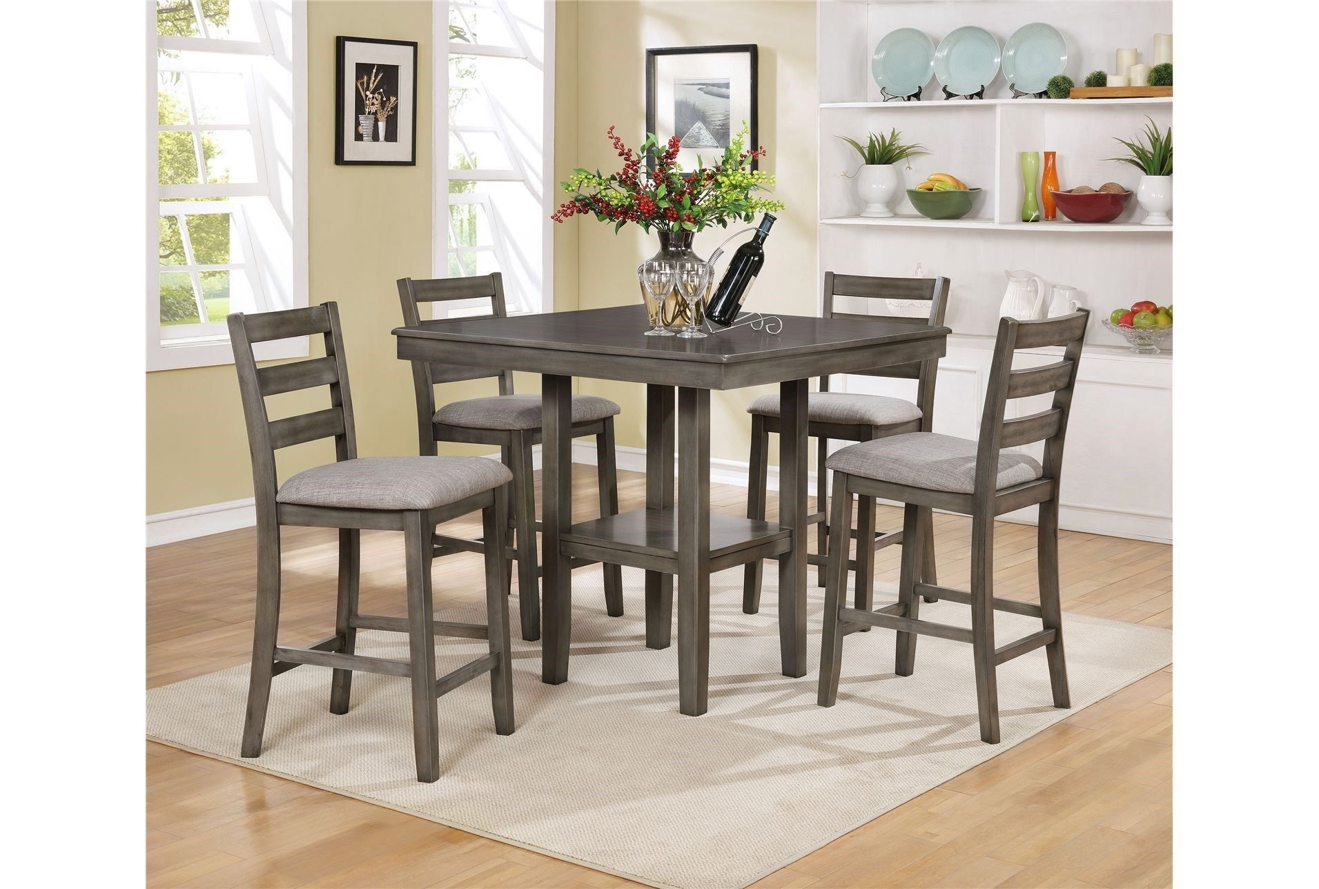 Featured Image of Jameson Grey 5 Piece Counter Sets