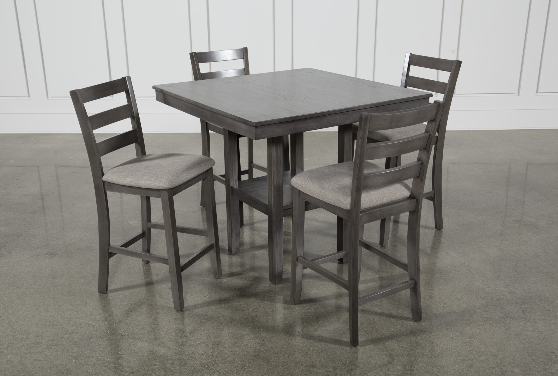 Jameson Grey 5 Piece Counter Set | Products | Pinterest | Products Pertaining To Latest Jameson Grey 5 Piece Counter Sets (Photo 2 of 20)