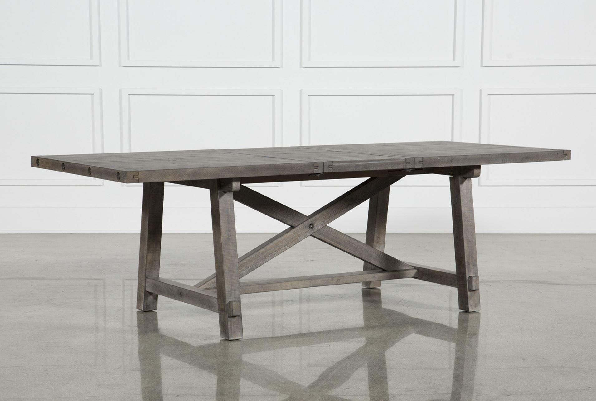 Jaxon Grey Rectangle Extension Dining Table | Future Furniture In Best And Newest Pelennor Extension Dining Tables (Image 4 of 20)