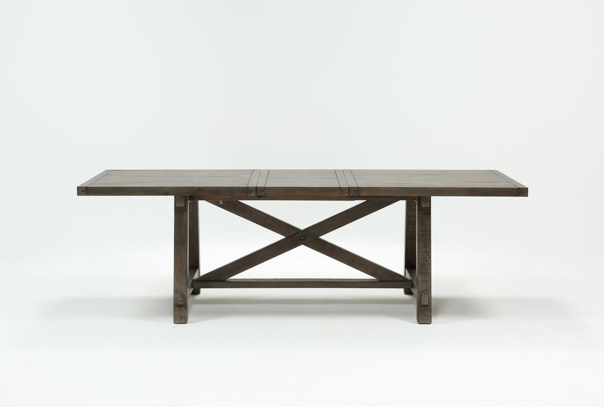Featured Image of Jaxon Grey Rectangle Extension Dining Tables