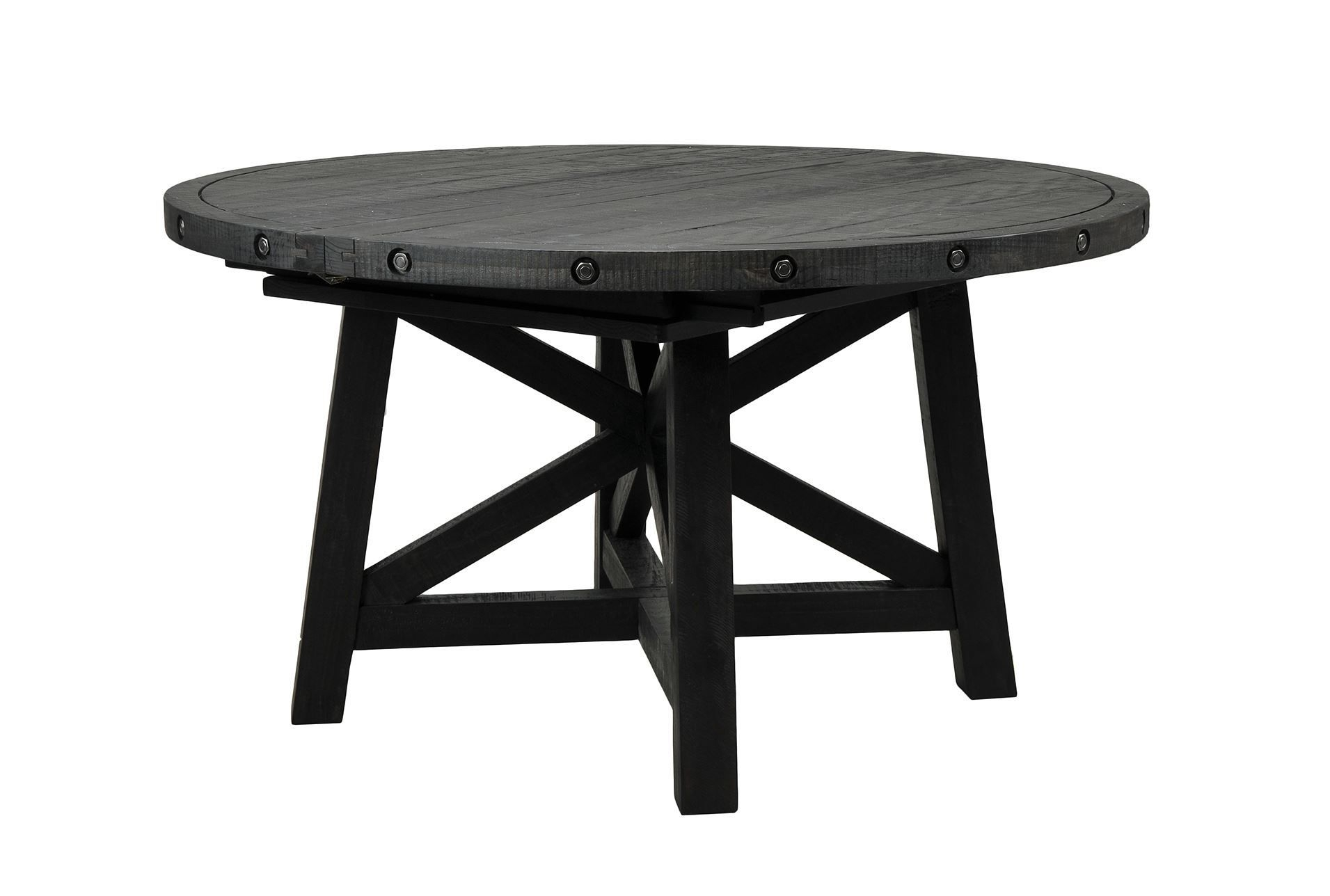 Jaxon Round Extension Dining Table | Dining Tables | Pinterest Inside Newest Jaxon Round Extension Dining Tables (Photo 3 of 20)