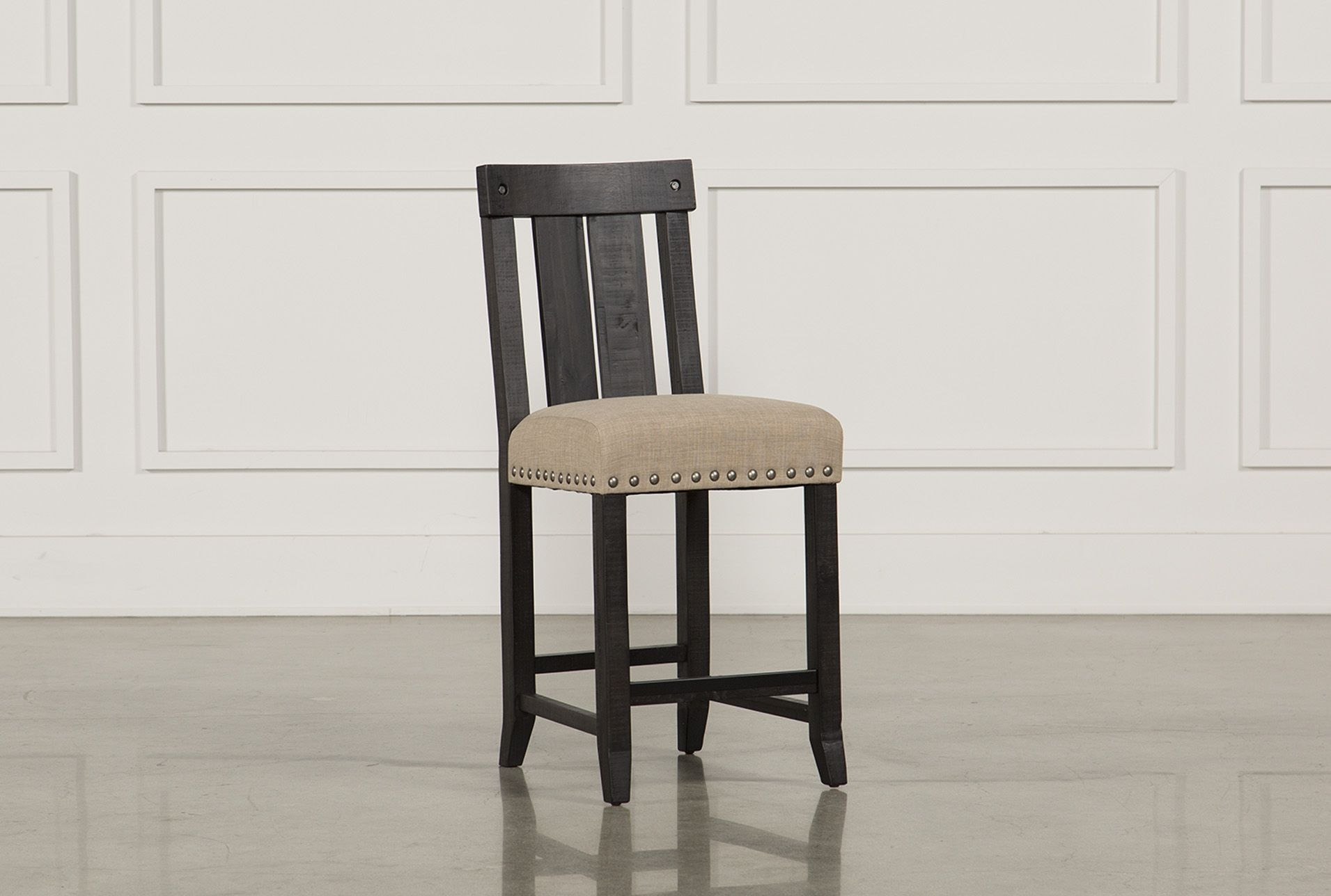 Jaxon Wood Counterstool | Woods And Products With Most Recent Jaxon Grey 5 Piece Extension Counter Sets With Wood Stools (Image 15 of 20)