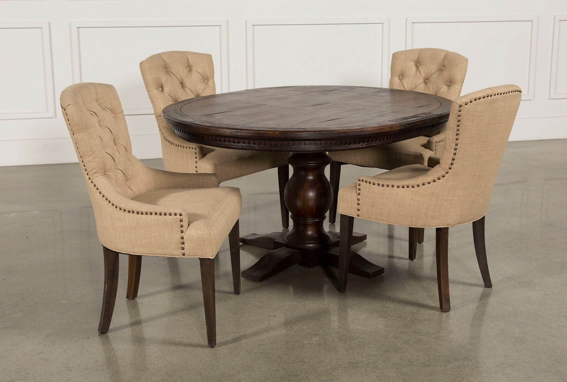 Jefferson 5 Piece Extension Round Dining Set | Pinterest | Round Intended For Most Current Jefferson Extension Round Dining Tables (Photo 2 of 20)