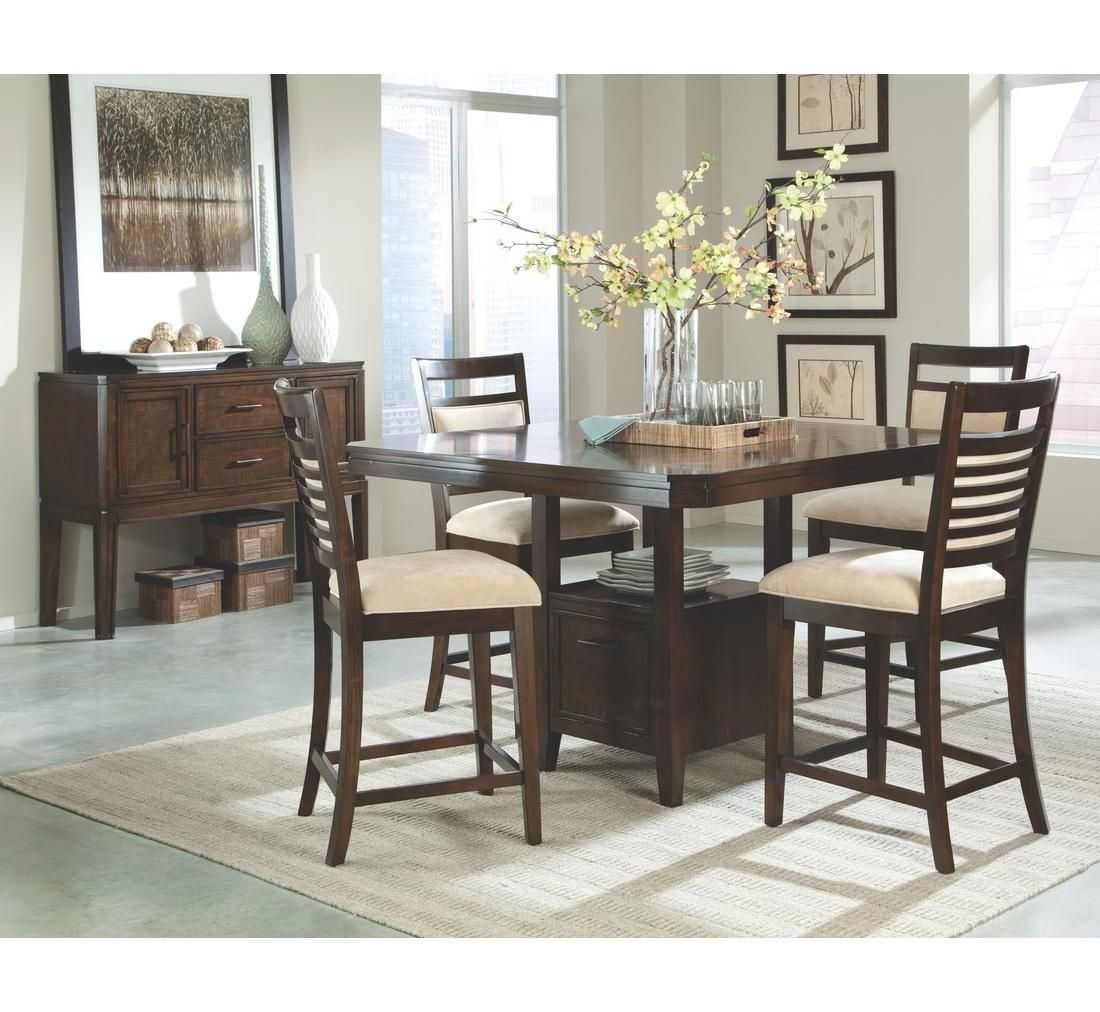 Jensen 5 Pc Dining Group | Badcock &more | Badcock Home Furniture Pertaining To 2018 Jensen 5 Piece Counter Sets (Image 8 of 20)