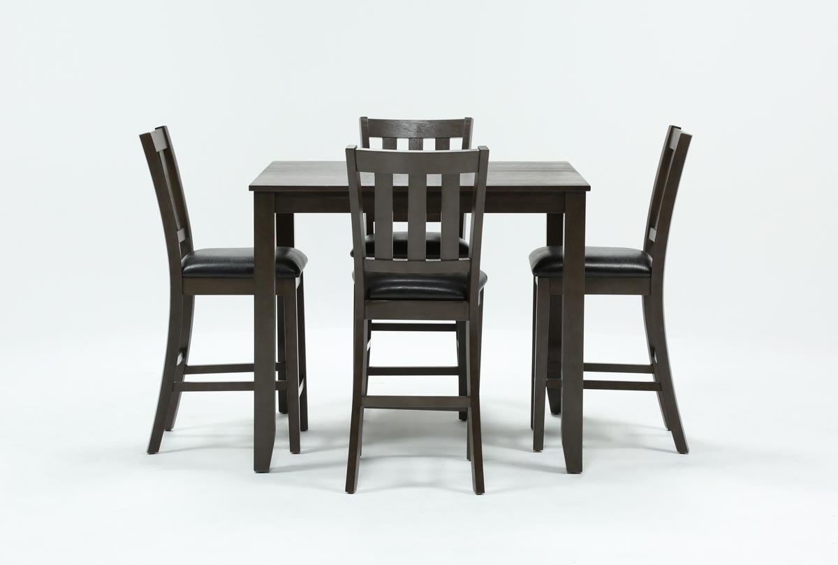 Jensen 5 Piece Counter Set | Living Spaces In Most Recent Harper 5 Piece Counter Sets (Image 10 of 20)