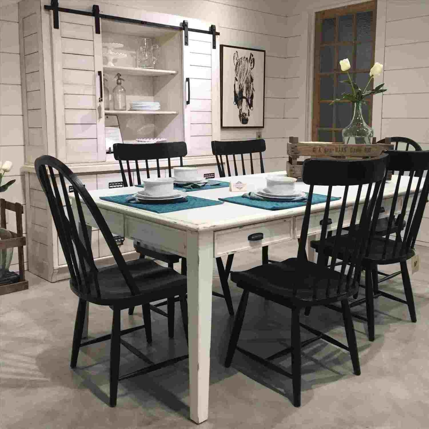 Joanna Gaines Farmhouse Dining Table | National12K Throughout Most Popular Magnolia Home Breakfast Round Black Dining Tables (Image 10 of 20)