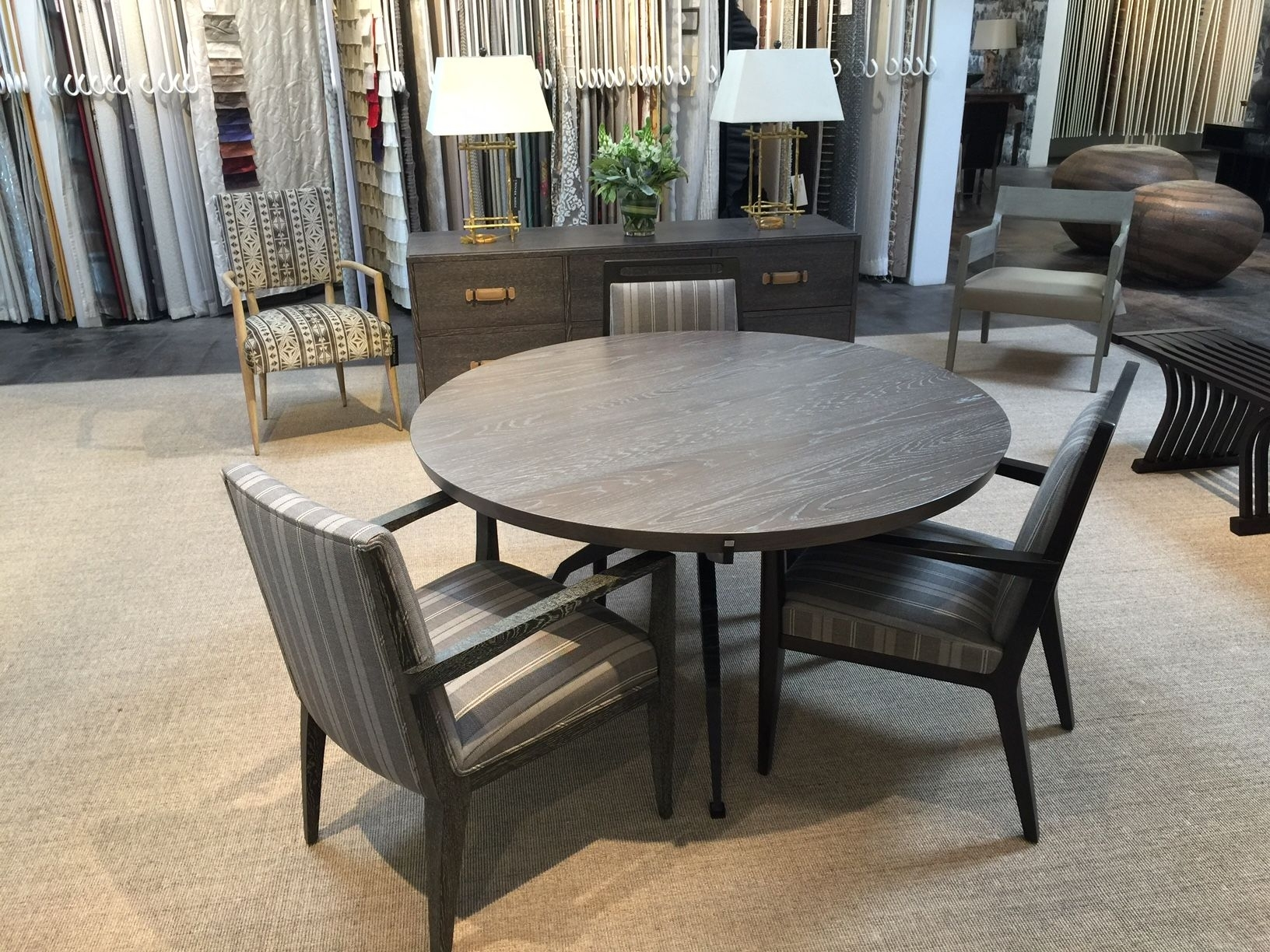 John Brooks – Scottsdale Showroom: Mattaliano Gallery Showcasing Throughout Newest Market 6 Piece Dining Sets With Side Chairs (Photo 9 of 20)